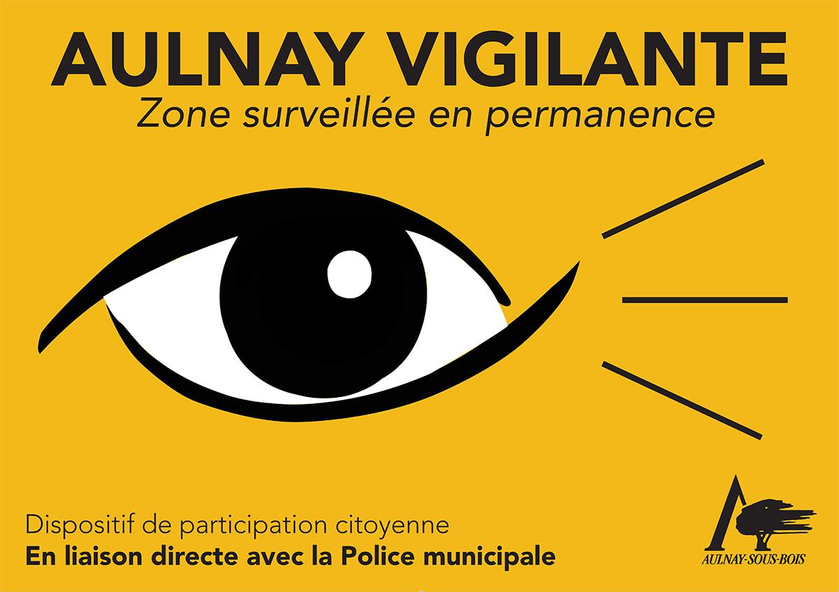 Logo aulnay vigilante